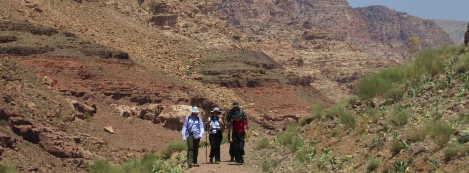 jordan trekking tours